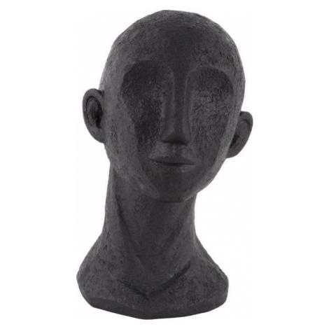 Černá dekorativní soška PT LIVING Face Art Dona, 28 cm