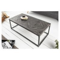LuxD Designový konferenční stolek Allen Home 100 cm šedé mango