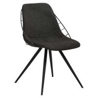 Černá jídelní židle DAN-FORM Denmark Sway