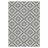 Novel VENKOVNÍ KOBEREC, 80/150 cm, šedá, tmavě šedá - šedá, tmavě šedá