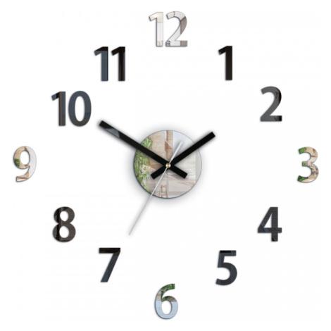 Mazur Nástěnné hodiny Box černé