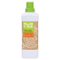 Yellow and Blue Prací gel z mýdlových ořechů pomeranč 1 l
