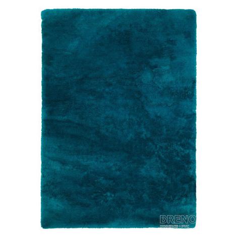 Chlupatý kusový koberec Curacao 490   tyrkysový Typ: 120x170 cm Obsession