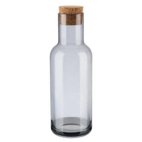 Karafa na vodu v šedé barvě FOR LIVING