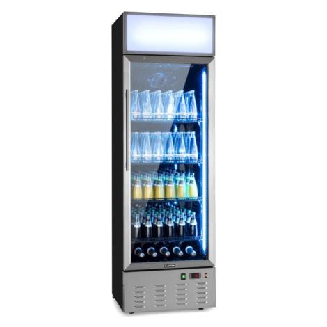 Klarstein Berghain, chladnička na nápoje, 278 l, RGB vnitřní osvětlení, 210 W, 2-8°C, ušlechtilá