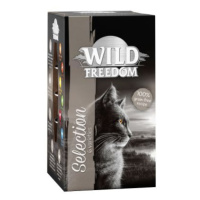 Wild Freedom Adult - vaničky 6 x 85 g - cold river - losos a kuře