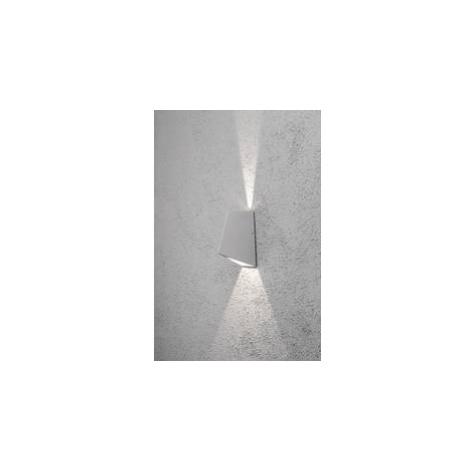Venkovní nástěnné LED svítidlo Imola Up & Down 7928-310, 8 W, stříbrná/šedá Konstsmide