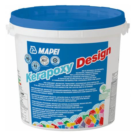 Spárovací hmota Mapei Kerapoxy Design temně hnědá 3 kg R2T MAPXDESIGN3146