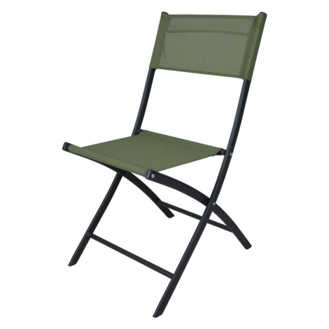 Zahradní židle skládací zelená I