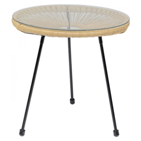 Odkládací stolek Acapulco - přírodní Kare Design