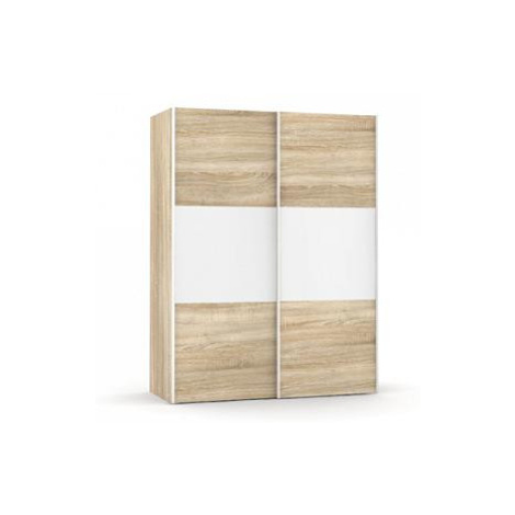Šatní skříň Rea Houston 1 dub bardolino-bílá FOR LIVING