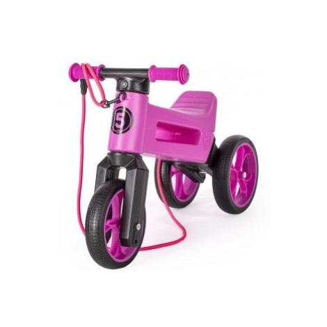 Odrážedlo FUNNY WHEELS Rider SuperSport fialové 2v1 Teddies