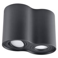 Polux Bodové svítidlo HADAR R2 2xGU10/10W/230V černá