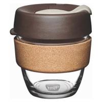 Cestovní hrnek s víčkem KeepCup Brew Cork Edition Almond, 227 ml