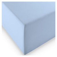 Fleuresse ELASTICKÉ PROSTĚRADLO, světle modrá, 200/200 cm