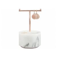Stojan na šperky Small Marble T Bar | mramor