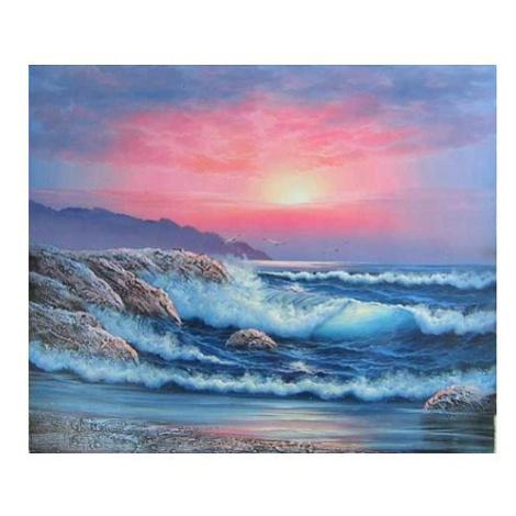 Obraz - Východ slunce u moře FOR LIVING
