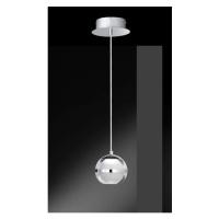 WOFI Závěsné svítidlo FULTON 1 x 6W, chrom WO 6740.01.01.0000