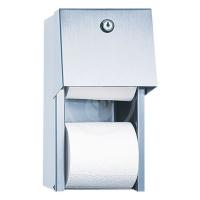 SANELA Nerezové doplňky Nerezový zásobník na toaletní papír SLZN 26