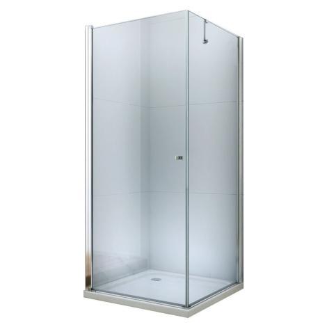 MEXEN/S PRETORIA sprchový kout 75x70 cm, transparent, chrom 852-075-070-01-00