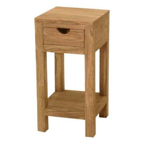 Sconto Přístavný stolek YOGA palisandr