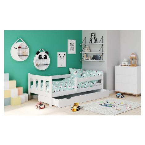 Dětská postel se zásuvkou MARINELLA 160x80 cm Halmar Borovice