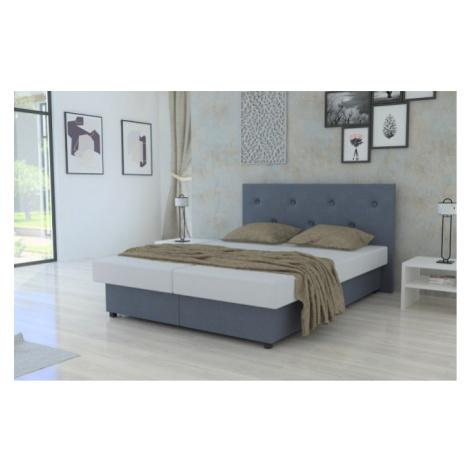 čalouněná postel new zofie 160x200 s úložným prostorem Lamivex
