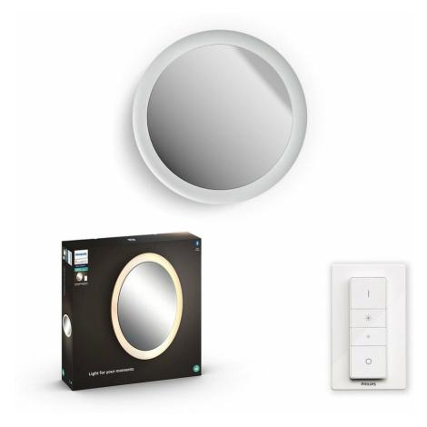 Hue LED White Ambiance Nástěnné koupelnové svítidlo se zrcadlem Philips Adore BT 34186/31/P6 40W