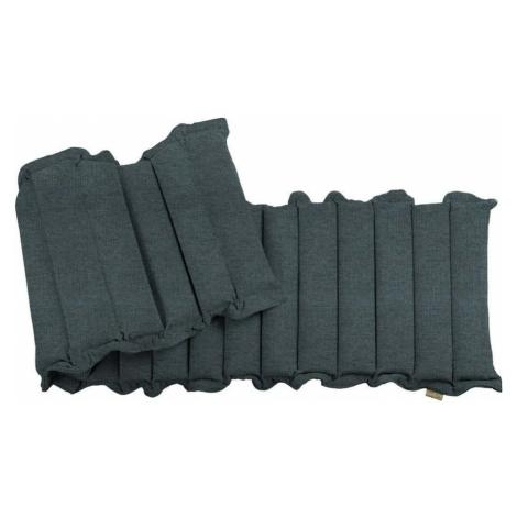 Šedomodrá relaxační masážní matrace Linda Vrňáková Waves, 60 x 200 cm