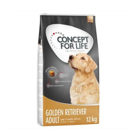 Concept for Life Zlatý retrívr Adult - 4 x 1,5 kg