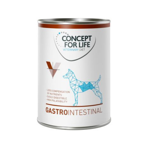 Concept for Life Veterinary Diet Gastro Intestinal - 6 x 400 g