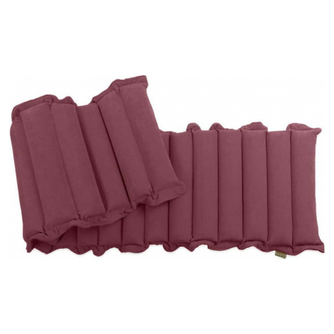 Červeno-fialová relaxační masážní matrace Linda Vrňáková Waves, 60 x 200 cm