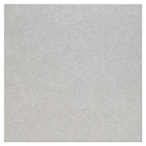 Dlažba Rako Block světle šedá 60x60 cm mat DAK63780.1