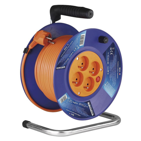 Prodlužovací kabel bubnový 4x zásuvka 30m 3 x 1 PCV P19430 BAUMAX