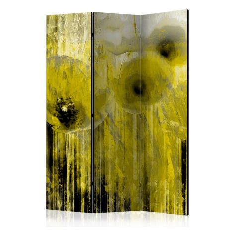 Paraván Yellow madness Dekorhome 225x172 cm (5-dílný) Artgeist