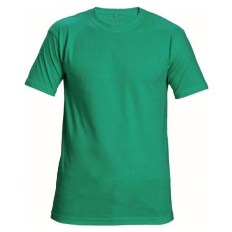 Zelené pracovní oděvy