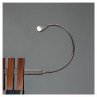 Heitronic LED lampa na čtení Berta s flexibilním ramenem