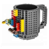 Lego hrnek šedá 350 ml