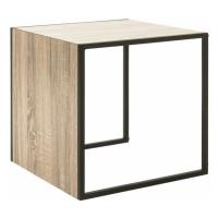Sconto Přístavný stolek XANDRO deska stolu 45 x 45 cm