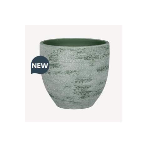 Obal TONDELA keramika šedo/zelená 14cm NDT