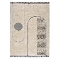 Béžový koberec Universal Horizon Line, 152 x 230 cm