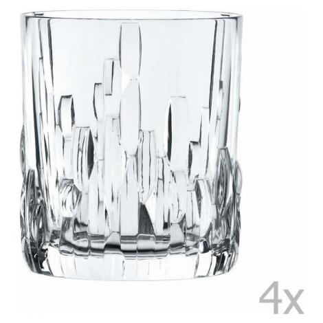 Sada 4 sklenic na whiskey z křišťálového skla Nachtmann Shu Fa, 330 ml