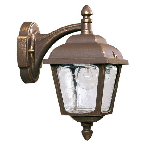 Albert Leuchten Venkovní nástěnné světlo venkovský styl 716, hnědá