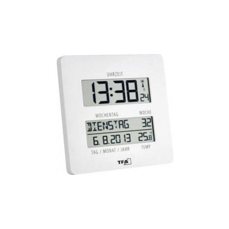 Digitální nástěnné dcf hodiny jumbo tfa efwu 1601, 60.4509.02, 27… TFA Dostmann