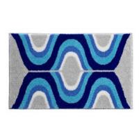 GRUND KARIM 18 Koupelnová předložka 60x100 cm, modrá