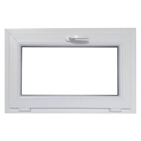 Okno sklopné 86,5x53,5cm bílá BAUMAX