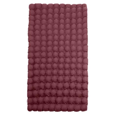 Červeno-fialová relaxační masážní matrace Linda Vrňáková Bubbles, 110 x 200 cm