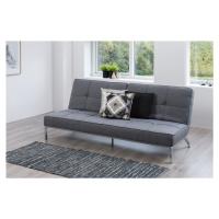 Dkton Designová rozkládací sedačka Amadeo 198 cm šedá
