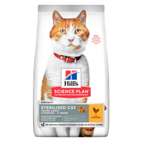 Hill´s Science Plan Feline Young Adult Sterilised Cat Chicken 10kg Hill's Science Plan