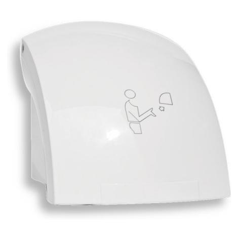 NOVASERVIS Elektrický senzorový osoušeč rukou, 1500 W, bílý 69091,1